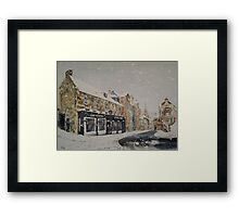 Greyfriars Bobby's Bar Framed Print