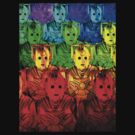 Rainbow Cyberman Army 2013 by Marjuned