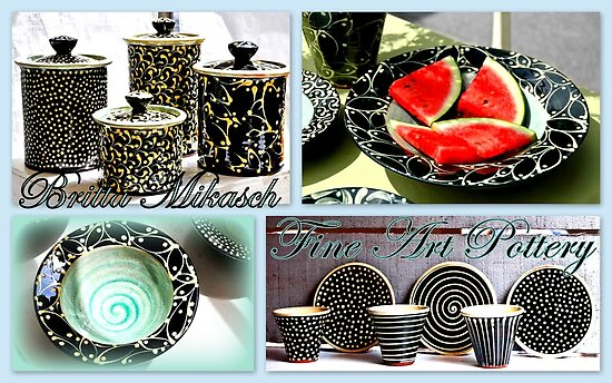 Fine Art Pottery by Britta Mikasch by ©The Creative  Minds