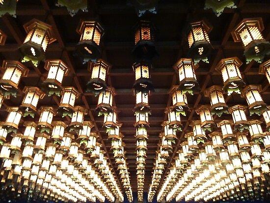 Daishoin lanterns by sammyphillips