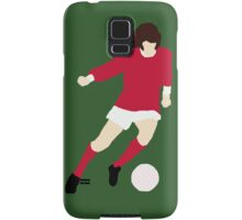 Minimalist George Best design Samsung Galaxy Case/Skin