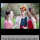 Vintage Girls Picnic- Friends by AmandaJanePhoto