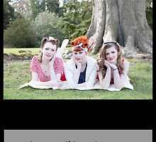 Vintage Girls Picnic- Your Cute by AmandaJanePhoto