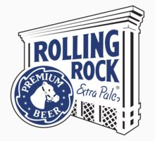 Rolling Rock Beer logo by Michael Sundburg