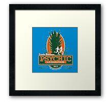 Psychic 1/4 Marathon Framed Print