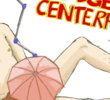 Go Go Gadget Centerfold! Sticker