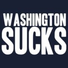 Dallas Cowboys - Washington Sucks - White by MOHAWK99