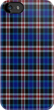 02339 Wayne County. Michigan E-fficial Fashion Tartan Fabric Print Iphone Case by Detnecs2013