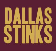 Washington Redskins - Dallas stinks - gold by MOHAWK99