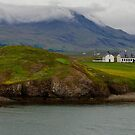 A Foggy, Rainy Day on the Coast of Iceland Near Reykjavik by Gerda Grice