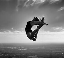 JUMP! B&W by Richard  Cubitt