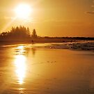 Byron Bay Sunset by Emily McAuliffe