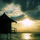 Lifeguard Tower, Gold Coast by Emily McAuliffe