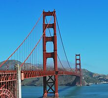 Golden Gate Bridge, San Francisco  by Emily McAuliffe