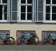 Three Bikes by Emily McAuliffe