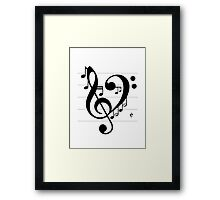 Love Music II Framed Print