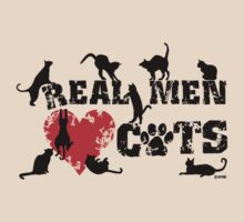 Real men love cats, cats have 9 lives by NewSignCreation
