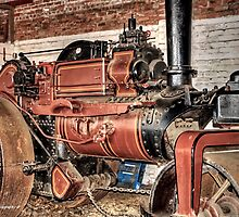 Steamroller (hdr) by peter donnan