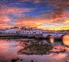Tavira Sunset by manateevoyager