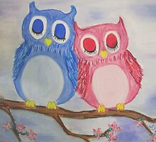 Owl Love by justineb