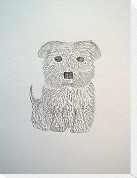 Tiny Terrier by CreativeEm