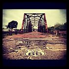 90 year old bridge on route 66 by toddedenborough