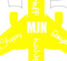 MJN Air Sticker