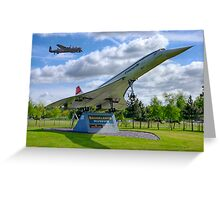 Dambusters 70 Years On - BBMF Lancaster 3 - HDR Greeting Card