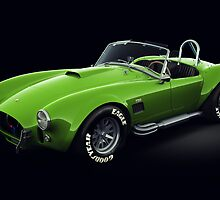 Shelby Cobra 427 Green by Marc Orphanos