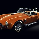 Shelby Cobra 427 Orange by Marc Orphanos