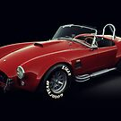 Shelby Cobra 427 Red by Marc Orphanos
