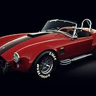 Shelby Cobra 427 Red with Black Stripe by Marc Orphanos