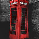 Warped British Red Phone Box by Ged J