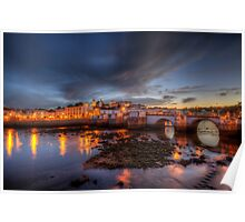 Tavira At Night Poster