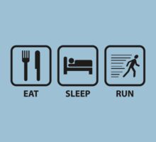 Eat Sleep Run by BrightDesign