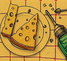 Drilling cheese by argart