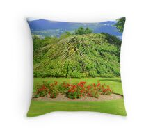 The View Across Lough Swilly Throw Pillow
