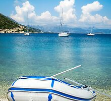 Mediterranean Blues by Silken Photography