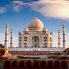 Taj Mahal, Agra, India by Scootarts