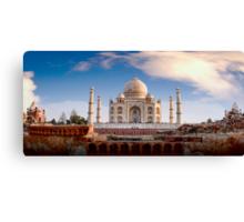 Taj Mahal, Agra, India Canvas Print