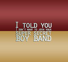 Super Secret Boy Band by Zambina