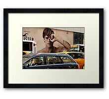 Early Morning Manhattan  (5th. Avenue)  Framed Print