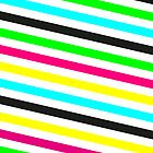 Neon Stripes 6 by Emily Beal