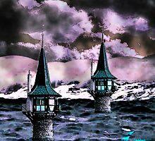 Light houses by Annabellerockz
