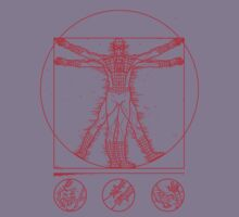 Spider-vitruvian by Saintsecond
