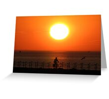 Herne Bay Sunset Greeting Card