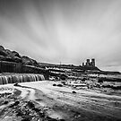 Reculver B&amp;W by Ian Hufton