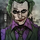 Heath Joker sketch by THSWESSEL