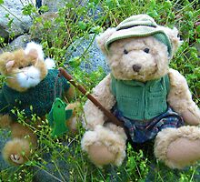 Kitty and Teddy Go Fishing by Jane Neill-Hancock