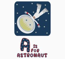 A is for Astronaut Kids Clothes